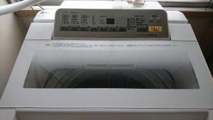 パナソニック 洗濯機『泡洗浄』操作パネル