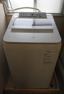 パナソニック 洗濯機『泡洗浄』2